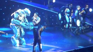 The fifth band member dancing with jls(Titan)