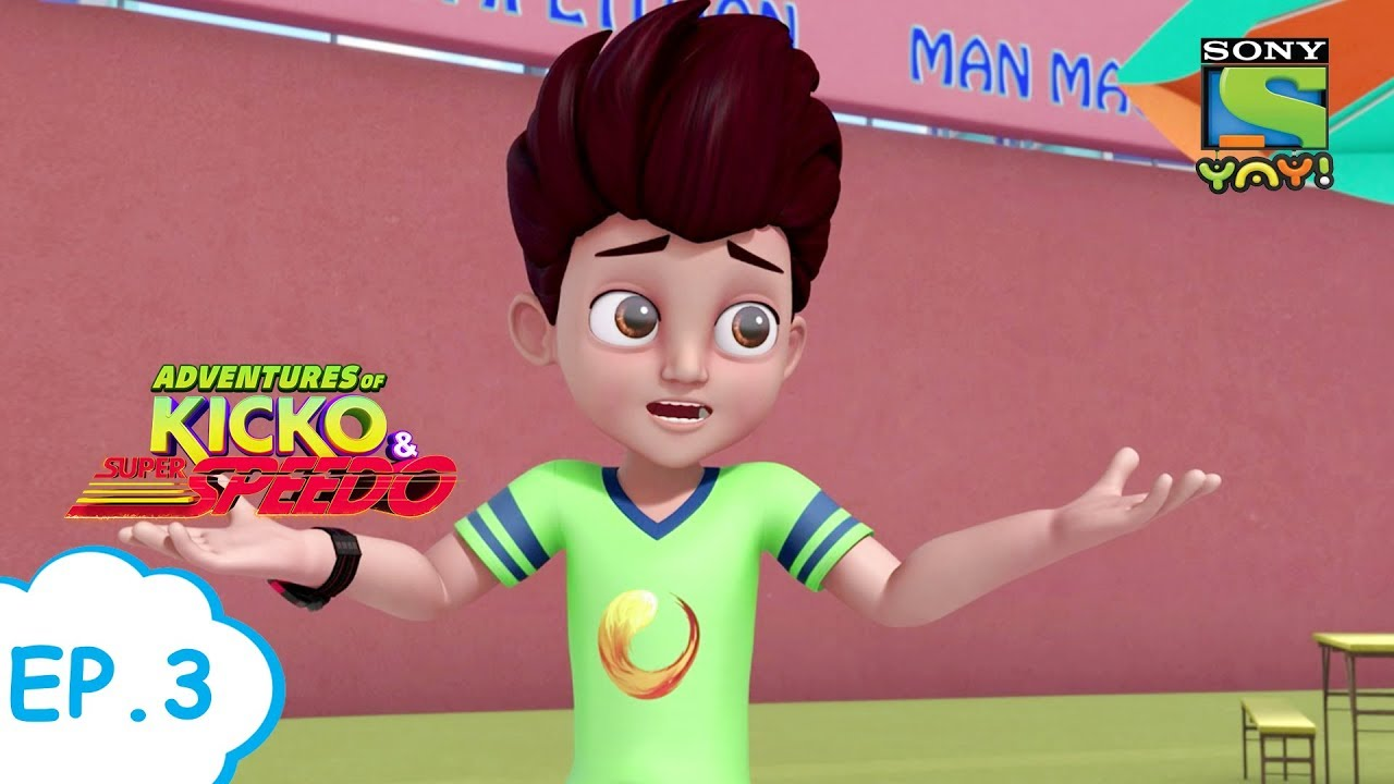 सनसिटी में चोरी | Adventures of Kicko & Super Speedo | Moral stories for kids in Hindi | Kids vi
