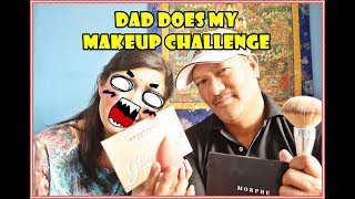 DAD DOES MY MAKE UP | NEPALI EDITION | KICHHY VLOGS