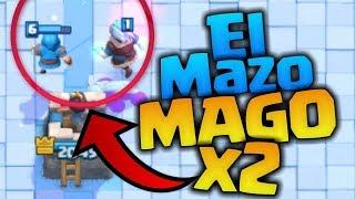 EL DOBLE MAGO VUELVE A LA CARGA!!!! Clash Royale byBloDz