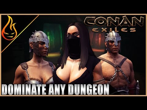 Taking On The Warmaker Dungeon At 33 Conan Exiles Server Play Ep8