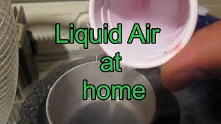DIY liquid nitrogen