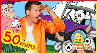 Old MacDonald Had A Farm Part 2 and More! | Wheels On the Bus & Other Nursery Rhymes