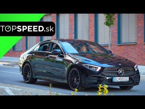 Mercedes CLS 400d Test (C257) - TOPSPEED.sk