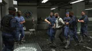 Max Payne 3 - Police HQ Gameplay - PC maxed settings