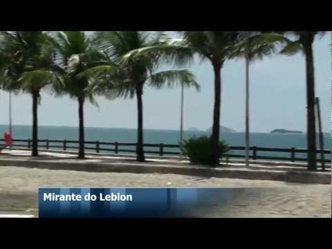Passeio pela orla do Leblon, Ipanema, Arpoador e Copacabana - Rio de janeiro - Brasil.