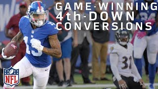 Game-Winning 4th Down Conversions Since 2000 | NFL Highlights