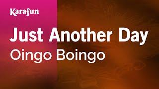 Karaoke Just Another Day - Oingo Boingo *