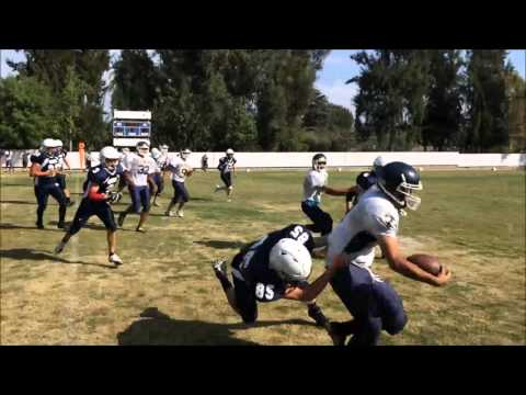 Lighthouse Christian Academy of Santa Monica plays Westmark School at football 2015