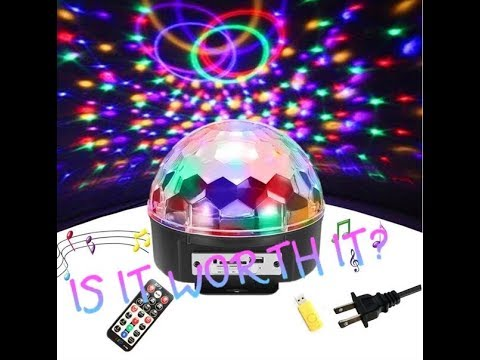 SOLMORE LED Party Lights Stage Lights Rotating Magic Ball Full Review Is It Worth It?