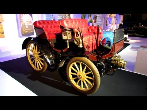 1900 Peugeot Type 15 Double Phaeton - The Car and The Publicity Exposition - 2012 Paris Auto Show