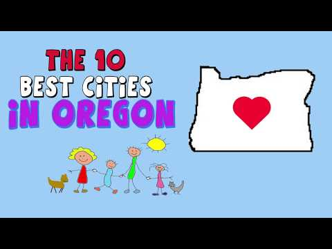 The 10 BEST PLACES To Live In OREGON