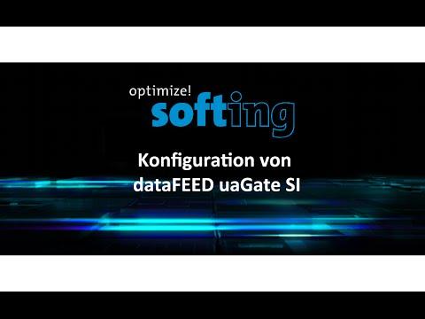 Konfiguration von dataFEED uaGate SI