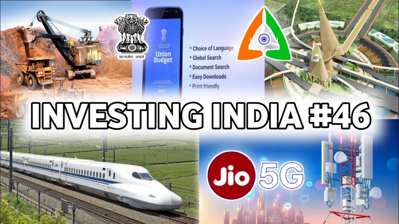 Investing India #46 - Jio 5G Coming, India's first Potash Mining, Union budget App launch   
