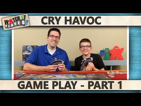 Cry Havoc - Game Play 1