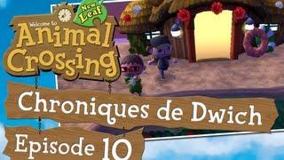 Animal Crossing New Leaf - Chroniques de Dwich - #10 - /w Ygeth60 - 3DS