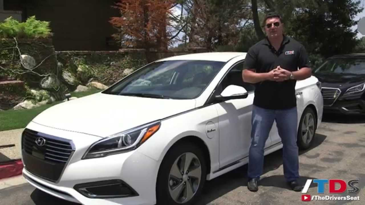 2016 Hyundai Sonata Plug In Hybrid Review   YouTube