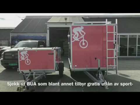 Norsk Tilhengersenter leverer 2 nye tilhengere til BUA kongsvinger!
