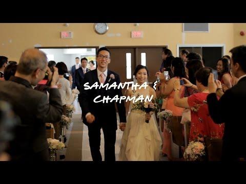 Groom's Priceless Reaction To His Bride (Samantha & Chapman's Wedding Video)