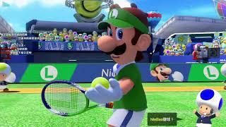 【聶寶】NS 瑪莉歐網球 錦標賽試打 好深奧的遊戲