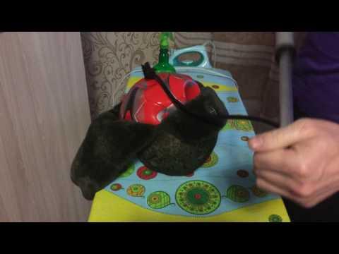 как растянуть шапку на пару размеров