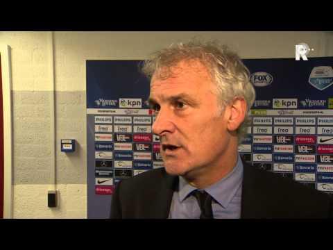Fred Rutten na afloop van PSV - Feyenoord