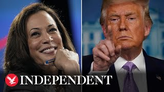 Trump fuels 'racist' birther claim about Kamala Harris promoted by his campaign