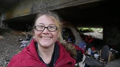 Living under a Bridge Doesn't Stop This Seattle Homeless Woman from Staying Positive.