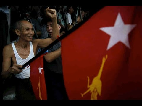 Millions vote in Myanmar's historic election