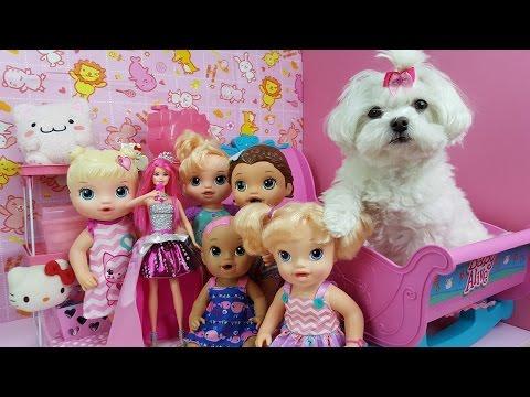 Quem Pegou a Barbie Rock´n Royal da Baby Alive Sarinha? Suki Dedo Duro