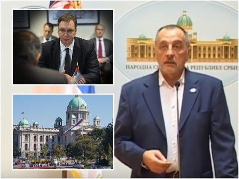 Živković Zatresao Skupštinu: Traži Hapšenje Vučića, Otvora Ogromnu Aferu