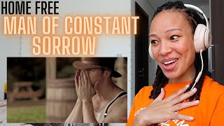 just. WOW 😱🙌🏽   Home Free - Man Of Constant Sorrow (Cover) [REACTION]