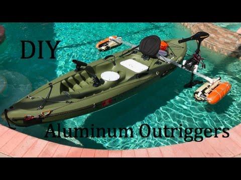 DIY Aluminum Kayak Outriggers