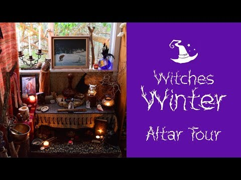 Witch's Winter Altar Tour