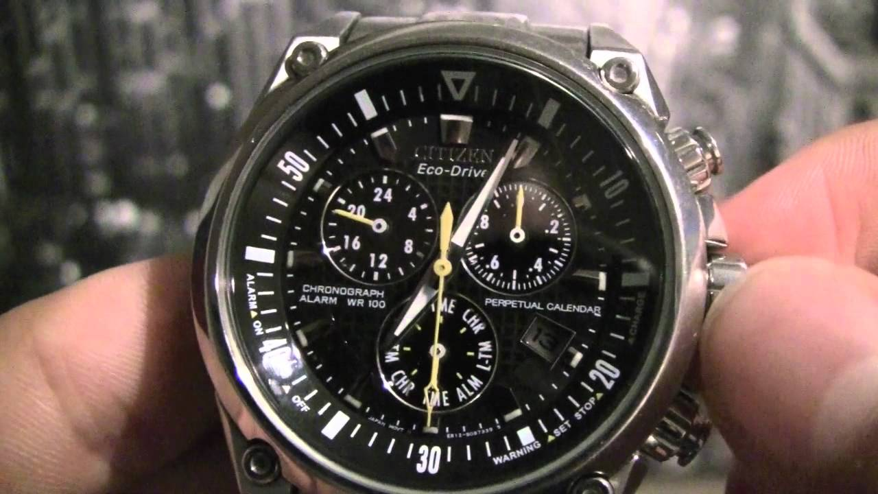citizen chronograph time date month leap year adjustment youtube rh youtube com E820 Eco-Drive Citizen S062438 E820 Eco-Drive Citizen S062438