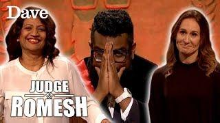 Romesh's MUM & WIFE Enter The Court! | Judge Romesh