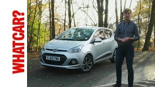 2013 Hyundai i10 video review - What Car?