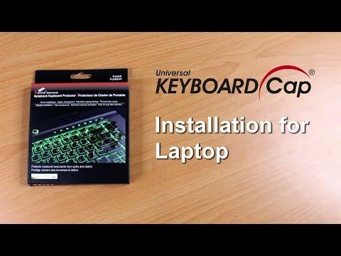 Keyboard Cover for Macbook - Universal Keyboard Cap Installation Laptop