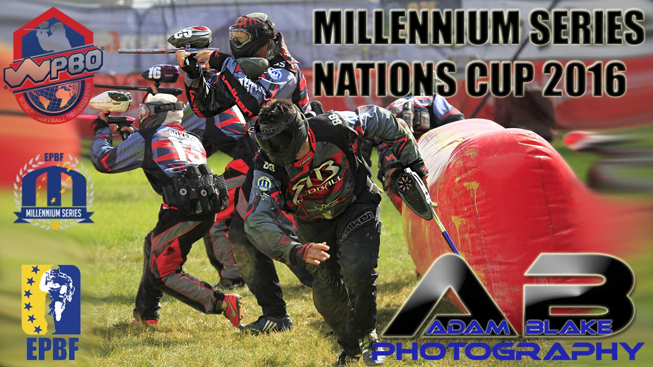 Millennium Paintball - Campaign Cup 2016 (Nations Cup) - YouTube