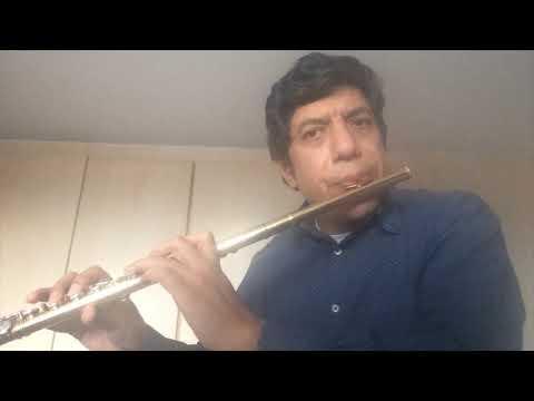 """Luis Fernando Carrera interpreta: """"Fantasía No.1"""" para flauta sola de George Philipp Telemann"""