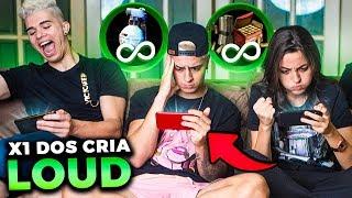 QUEM GANHOU?! PRIMEIRO X1 DOS CRIA NA MANSÃO LOUD!!