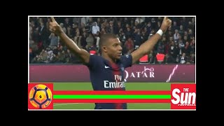 Kylian Mbappe Scores Four Goals In 13 Minutes For PSG; Watch Them All Here