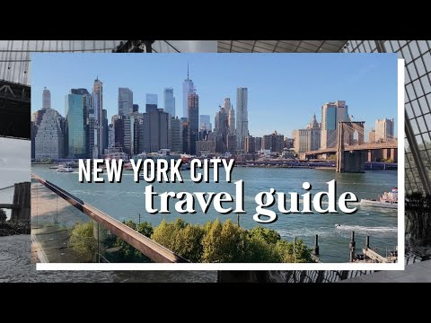 A Local's Guide To Being A Tourist In NYC: What To See + More! | New York City Travel Guide 2019
