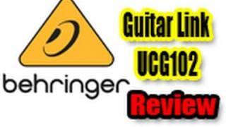 Behringer Guitar Link UCG102 Review (Bass Demo)