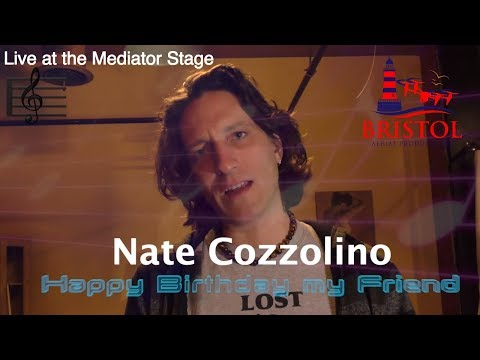 Nate Cozzolino Live at The Mediator Stage. Live music in Providence Rhode Island.