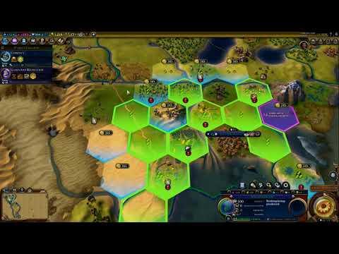Civilization 6: Expansion: Poundmaker- Part 2- A No War battle?