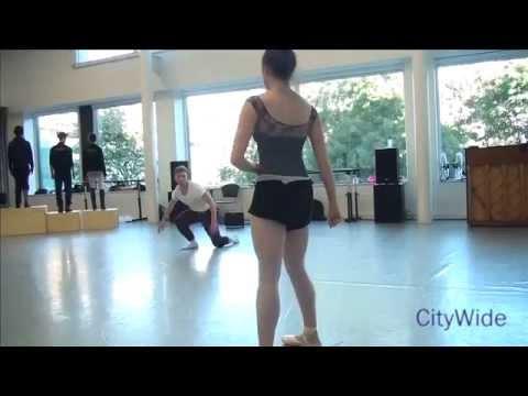 Ballet Ireland - Rehearsals