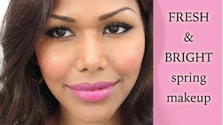 Fresh & Bright Spring Makeup Thumbnail