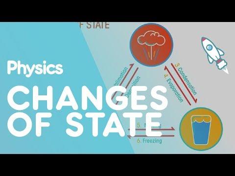 Change Of State | Matter |  Physics | FuseSchool