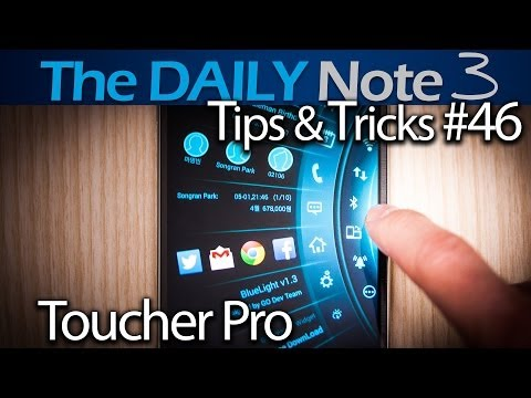 Samsung Galaxy Note 3 Tips & Tricks Episode 46: Galaxy S5 Toolbox-like App, Toucher Pro